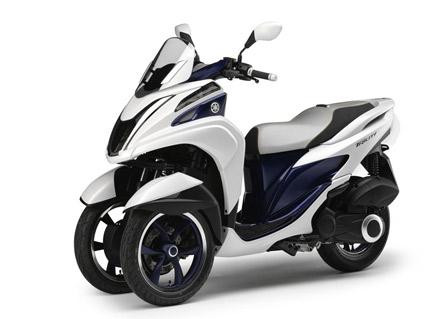Yamaha пусна в производство триколката TriCity