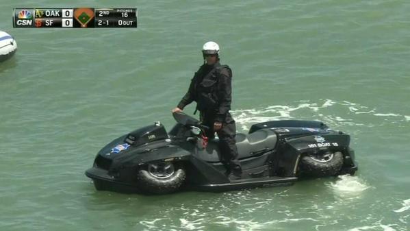 Полицията в Сан Франциско се сдоби с Quadski