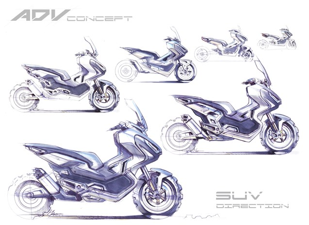 17YM X-ADV Sketches