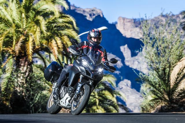 Ducati Multistrada 1260 с куп подобрения за 2018 г.