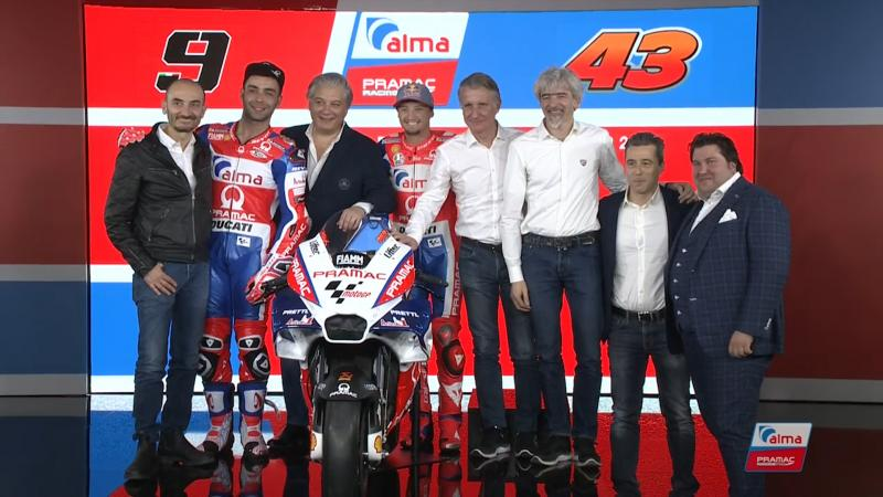 MotoGP: Alma Pramac Racing представи тима си за новия сезон