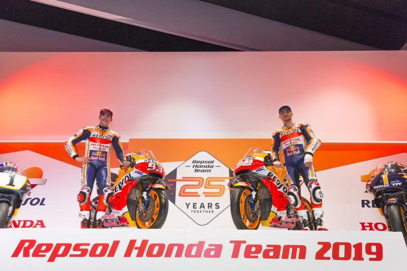 Repsol Honda представи мотора си за 2019 г. в Мадрид