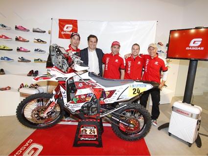 Gas Gas представи тима си за Дакар 2014