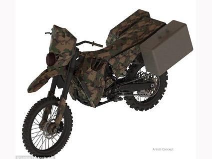 Silent Hawk – тих мотоциклет за американската армия