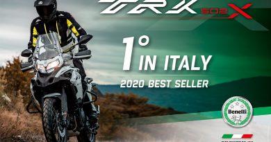 Benelli TRK502 – №1 на италианския пазар за 2020 г.