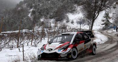 """WRC: Ожие пак води в """"Монте Карло"""", три коли Toyota в челото"""