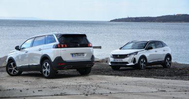 Тест – Peugeot 3008 и 5008 с по-остри зъби