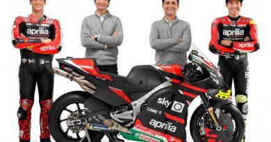 Aprilia Racing Team Gresini представи новият RS-GP за 2021 г. и пилотите си