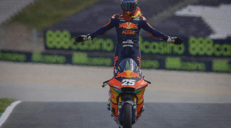 Moto2: Неудържимият Раул Фернандес печели първа победа